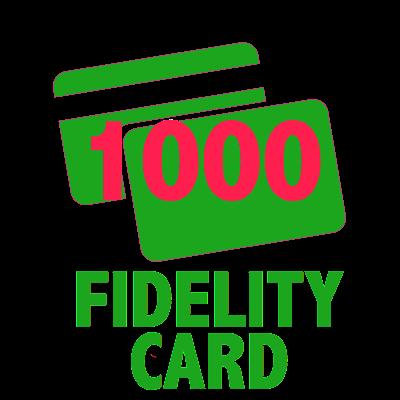1000 Fidelity Card